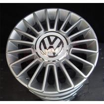 Jg De Rodas Aro 14 Volkswagen Up Prata Original Vw