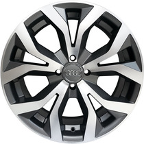 Roda Audi Rs6 2012 Aro 17 Grafite Diamantado Fosco