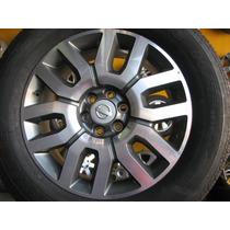 Rodas Nissan Frontier 2013 Aro 18 Com Pneus 255/60/18 Novos