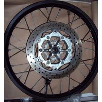 Roda Dianteira S/ Disco- Yamaha Xt660 - Original - Semi Nova