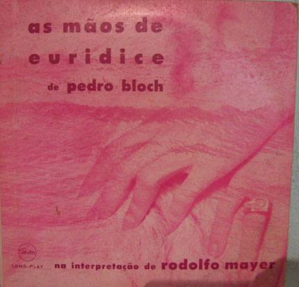 Rodolfo Mayer - As Mãos De Eurídice - 10 Polegadas 2 Lps