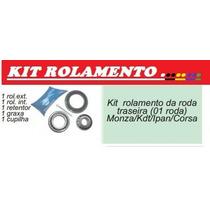 Kit Rolamento Da Roda Traseira Corsa Celta Monza Kadet Prism