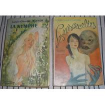 Livros Franceses Antigos Anos 50 Romance $ 10,00 Cada