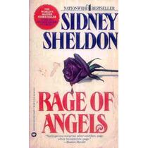 5372 Livro Rage Of Angels , De Sidney Sheldon,(a Ira Dos An