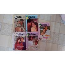 Lote Romances Julia E Sabrina Florzinha
