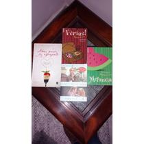 Livros: Ferias, Melancia, Comer Rezar Amar, Amei Perdi