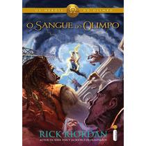 Livro - O Sangue Do Olimpo - Rick Riordan - (novo/lacrado)