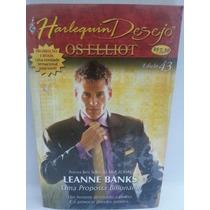 Romance: Desejo Harlequin Nº043 Leanne Banks - Frete Grátis