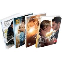 Box 4 Livros Combo Nicholas Sparks Frete Grátis