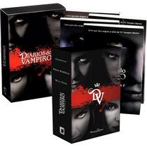 Coleção Diários Do Vampiro - Boxes 1 E 2 (7 Livros)