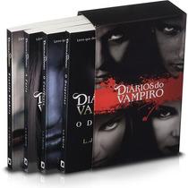 Box Diários Do Vampiro (4 Livros) #