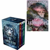 Box Coleção A Maldição Do Tigre - 5 Livros- Frete Grátis