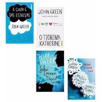 Kit 4 Livros - John Green - A Culpa É Das Estre-frete Grátis