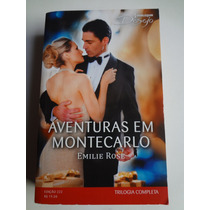 Livro Harlequin Desejo Ed. 222 Aventuras Em Montecarlo