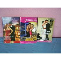Livros Harlequin - Coleção Desejo Jessic - Livros Romances.