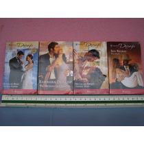 Livro Romance Desejo Editora Harlequin. Lote.