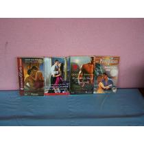 Livros Harlequin - Coleção Desejo - 4 Livros. Romances.