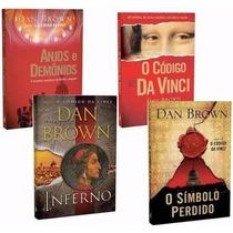 Dan Brown Box Aventuras De Robert Langdon 4 Livros Coleção