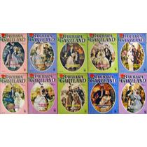 Lote 10 Livros Romance - Barbara Cartland - Florzinha
