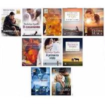 Kit Livros - Coleção Nicholas Sparks (10 Livros) - Lacrados