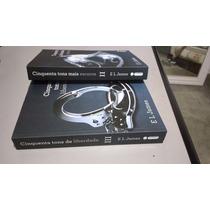 Kit Livros Cinquenta Tons De Liberdade +50 Tons Mais Escuros