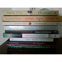 Lote 10 Livros Semi Novos Atuais Bestseller Fotos Reais