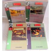 Lote Coleção 4 Livros O Globo - Nº 3,5,14 E 16