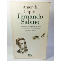 Livro Amor De Capitu - Fernando Sabino