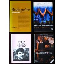4 Livros Chico Buarque J Trevisan Marcelo Paiva Paulo Coelho
