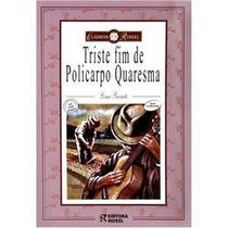 Livro - Triste Fim De Policarpo Quaresma - Lima Barreto