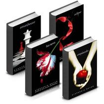 Coleção Crepúsculo - A Saga Completa Com 4 Livros - Novos!