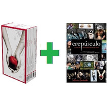 Kit Crepúsculo Saga Completa + Livro De Anotações