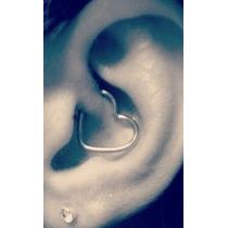 Piercing Cartilagem, Daith Clips Coração Em Aço