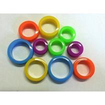 Alargador Piercing Para Orelha Várias Cores 14 A 22mm - Par