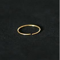 Piercing Banhado A Ouro 18k Argola Nariz Nostril 0,5mm X 10