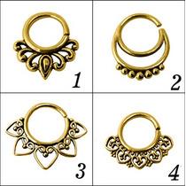 Piercings De Septo, Naríz, Indianos De Bronze - 8 Opções