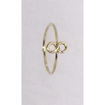 Piercing Nariz Argola Infinito Ouro 18k 750
