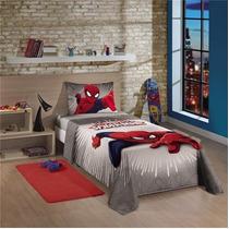 Jogo Cama Infantil Solteiro Homem Aranha Spiderman Ultimate