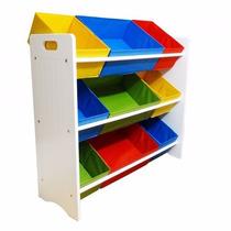Estante Organiza Brinquedo Quarto Criança Prateleira Bagunça