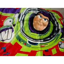 Cobertor De Microfibra Solteiro Buzz Lightyear, Jolitex