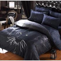 Lençol 2 Capas De Travesseiro E Capa Edredão 3 D Conjunto