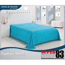 Colcha De Chenille Solteiro Madri 1,60 X 2,40
