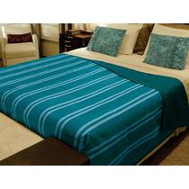 Cobertor Casal Doação Azul - Direto Da Fabrica