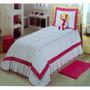 Edredom Infantil Dream House Com Boneca 3 Peças (4846)