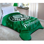 Cobertor Raschel Solteiro Palmeiras - Corttex