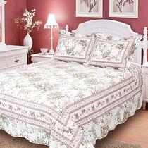 Colcha Patchwork Boutis Casa Elegance Casal - Flora