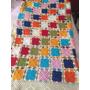 Colcha Artesanal De Crochê. Medidas 2,60x2,20. Nunca Usada.