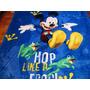 Manta (cobertor) Mickey, Microfibra, Casal, Fofinha