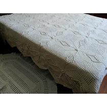 Colcha De Casal Em Croche