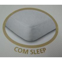 Capa Protetora Impermeável Para Colchão Casal Serve P/ Box